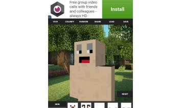 Custom Skin Creator For Minecraft взлом (Мод все открыто)