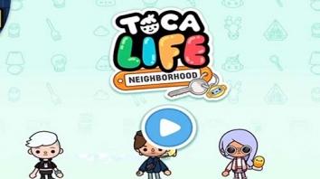 Взломанный Toca Life: Neighborhood (Мод все открыто)