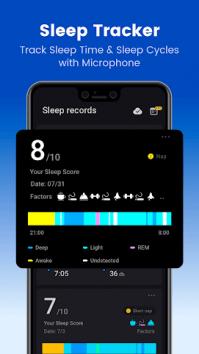 Sleep Monitor: Sleep Cycle Track, анализ, музыка взлом (Мод pro)