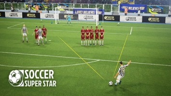 Soccer Super Star взломанный (Мод много денег)