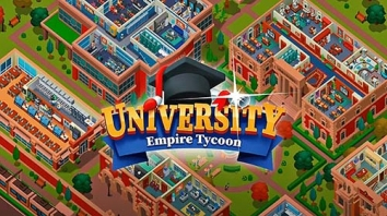 University Empire Tycoon взломанный (Мод много алмазов)